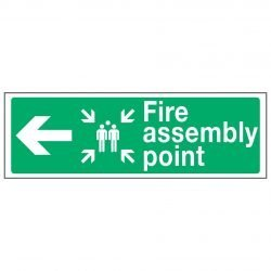 Fire assembly point (Left arrow)