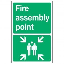 Fire assembly point (Metal)
