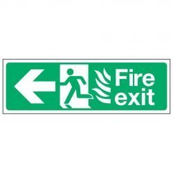 Fire exit / Arrow Left / NHS