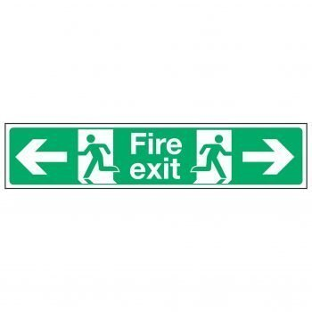 Fire exit / Arrow Left and Right