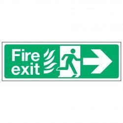 Fire exit / Arrow Right - NHS