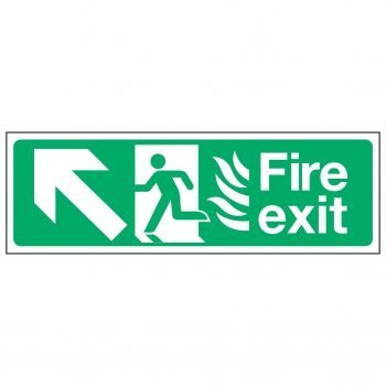 Fire exit / Arrow Up Left - NHS