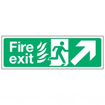 Fire exit / Arrow Up Right - NHS