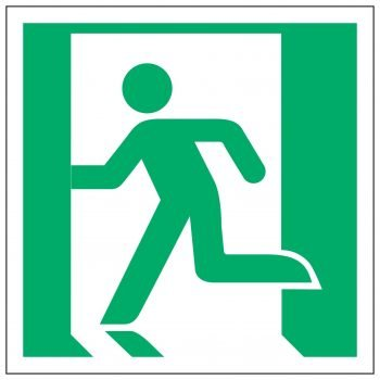 Fire exit / Left symbol