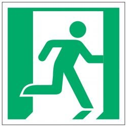 Fire exit / Right symbol