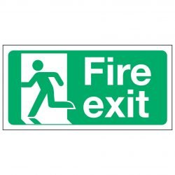 Fire exit / Running Man Left