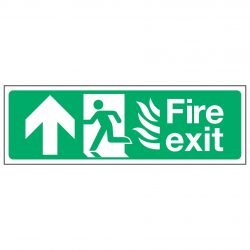 Fire exit / Running Man Left / Arrow Up - NHS