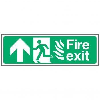 Fire exit / Running Man Left / Arrow Up - NHS