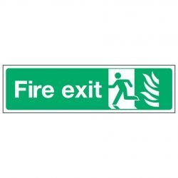 Fire exit / Running Man Left - NHS