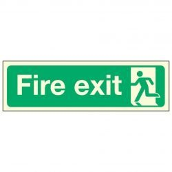 Fire exit / Running Man Left PL