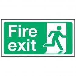 Fire exit / Running Man Right