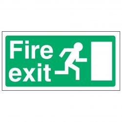 Fire exit / Running Man Right EEC - 92/58