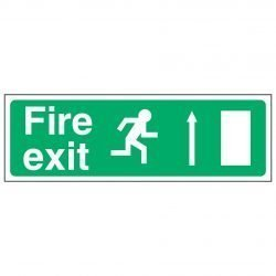 Fire exit / Running Man Right / Arrow Up - EEC 92/58