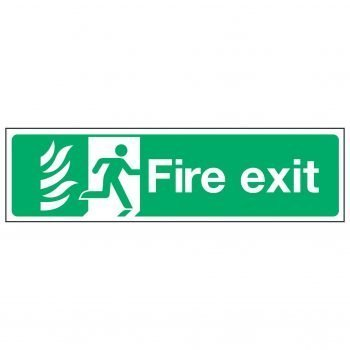 Fire exit / Running Man Right - NHS