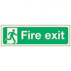 Fire exit / Running Man Right PL