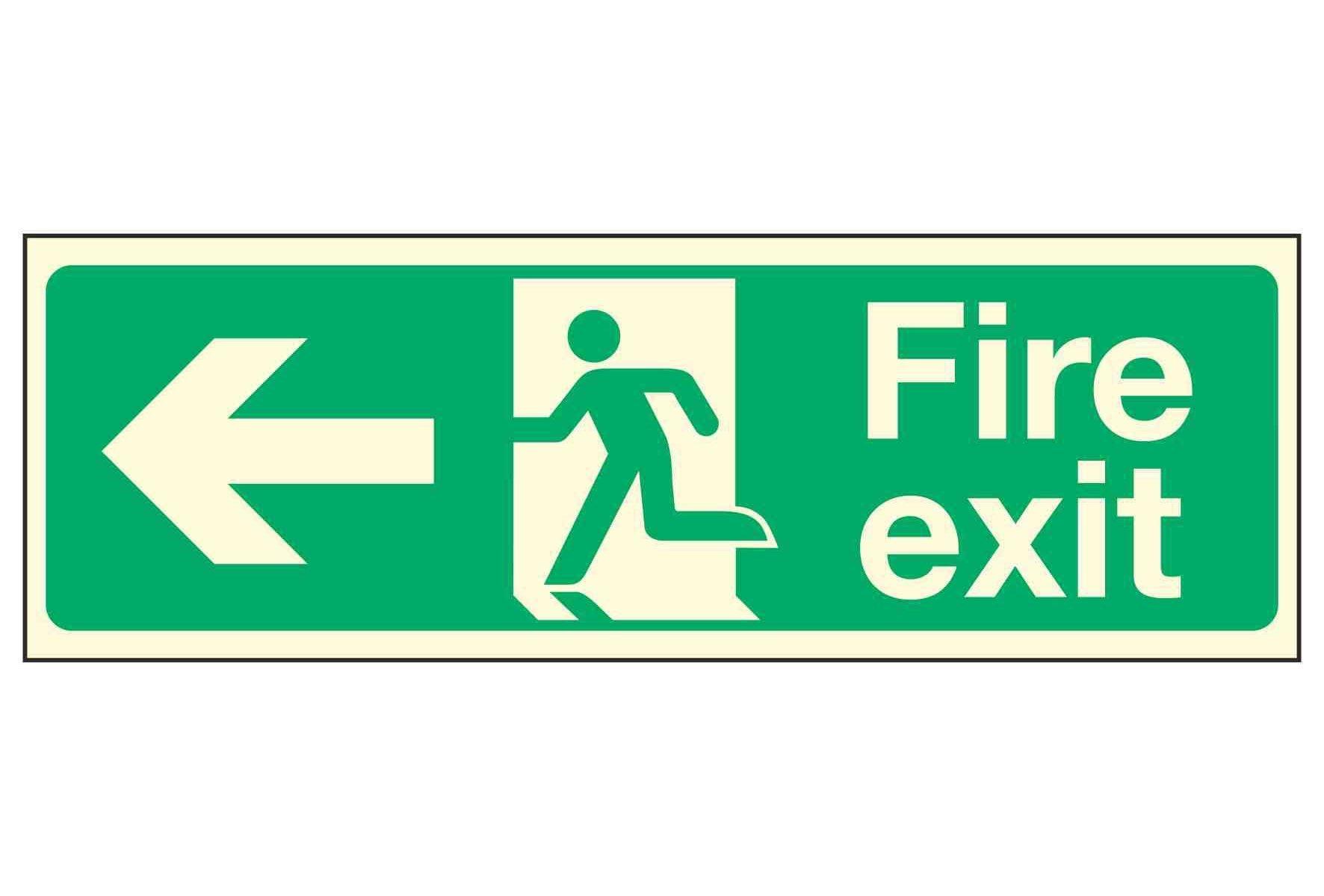 Fire Exit Left PL