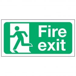 Fire Exit Man Left