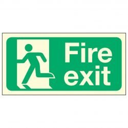 Fire Exit Man Left PL
