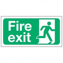 Fire Exit Man Right
