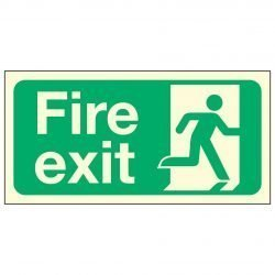 Fire Exit Man Right PL