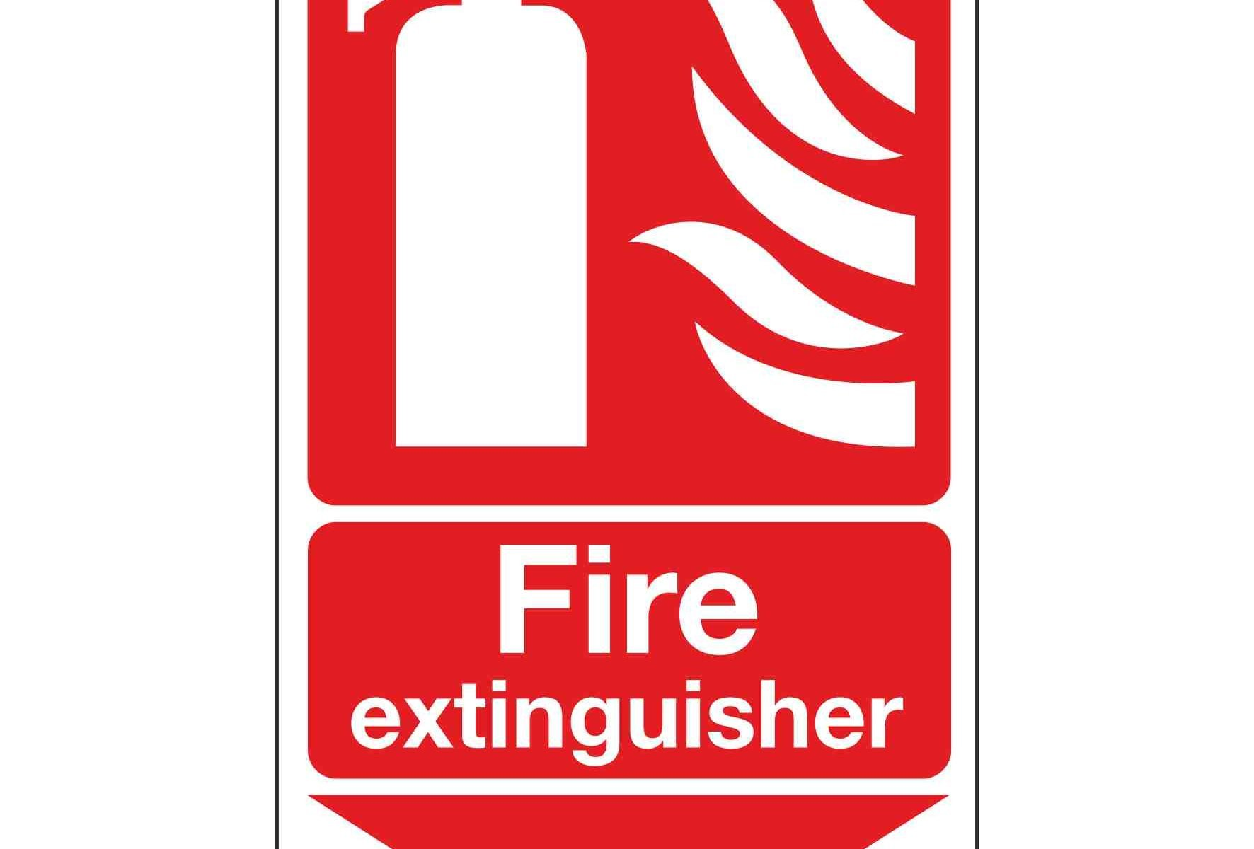 Fire extinguisher / Arrow Down