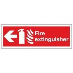 Fire extinguisher / Arrow Left