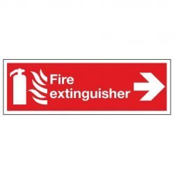 Fire extinguisher / Arrow Right