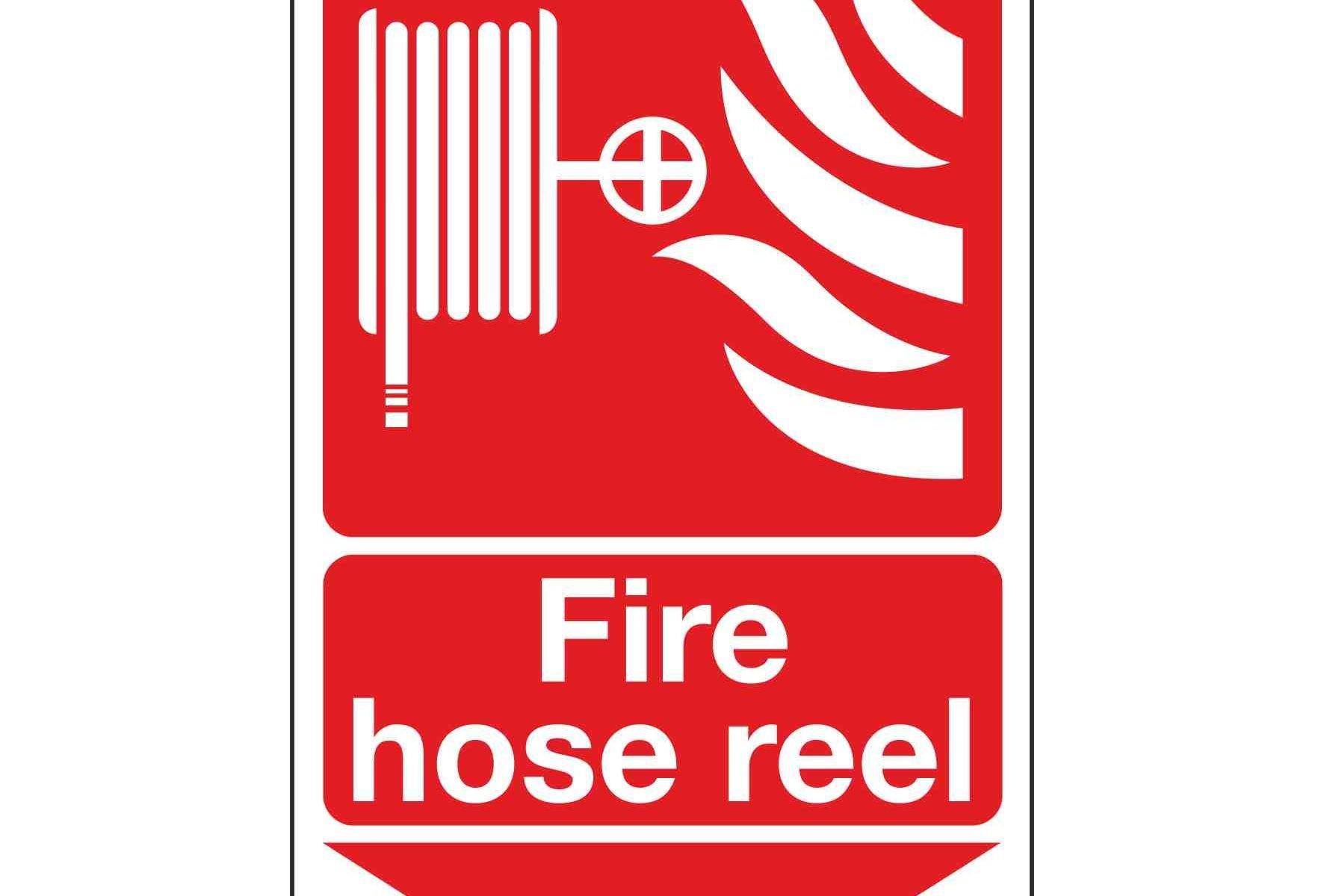 Fire hose reel / Arrow Down