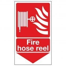 Fire hose reel / Arrow Down