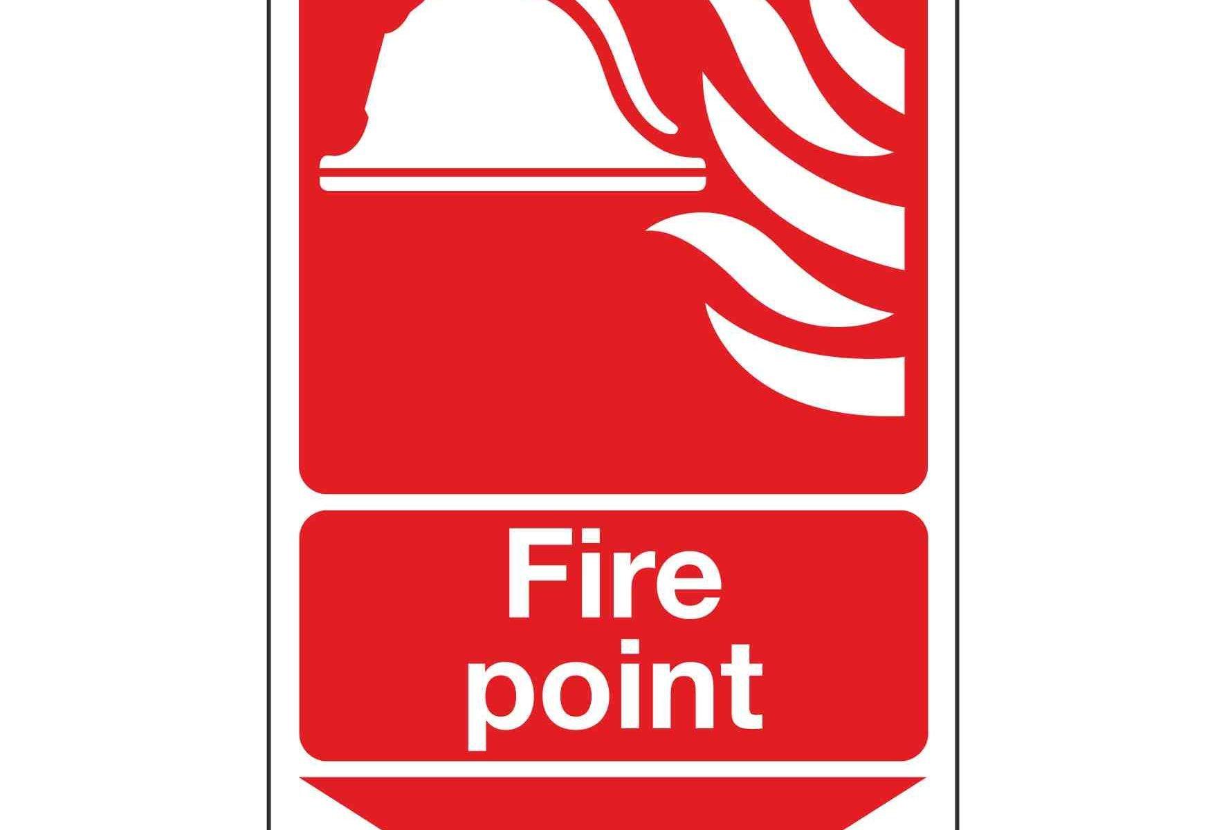 Fire point / Arrow Down