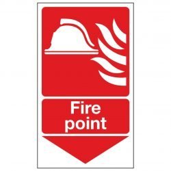 Fire point / Arrow Down