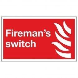 Fireman's switch