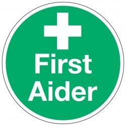 First Aider Stickers (5 per pack)
