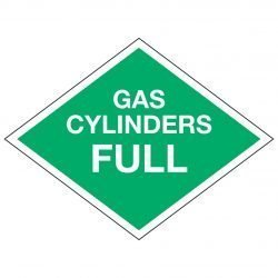 GAS CYLINDERS FULL
