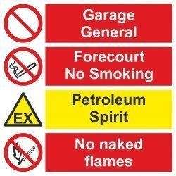 Garage Forecourt / Flammable Liquid