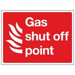 Gas shut off point