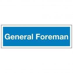 General Foreman