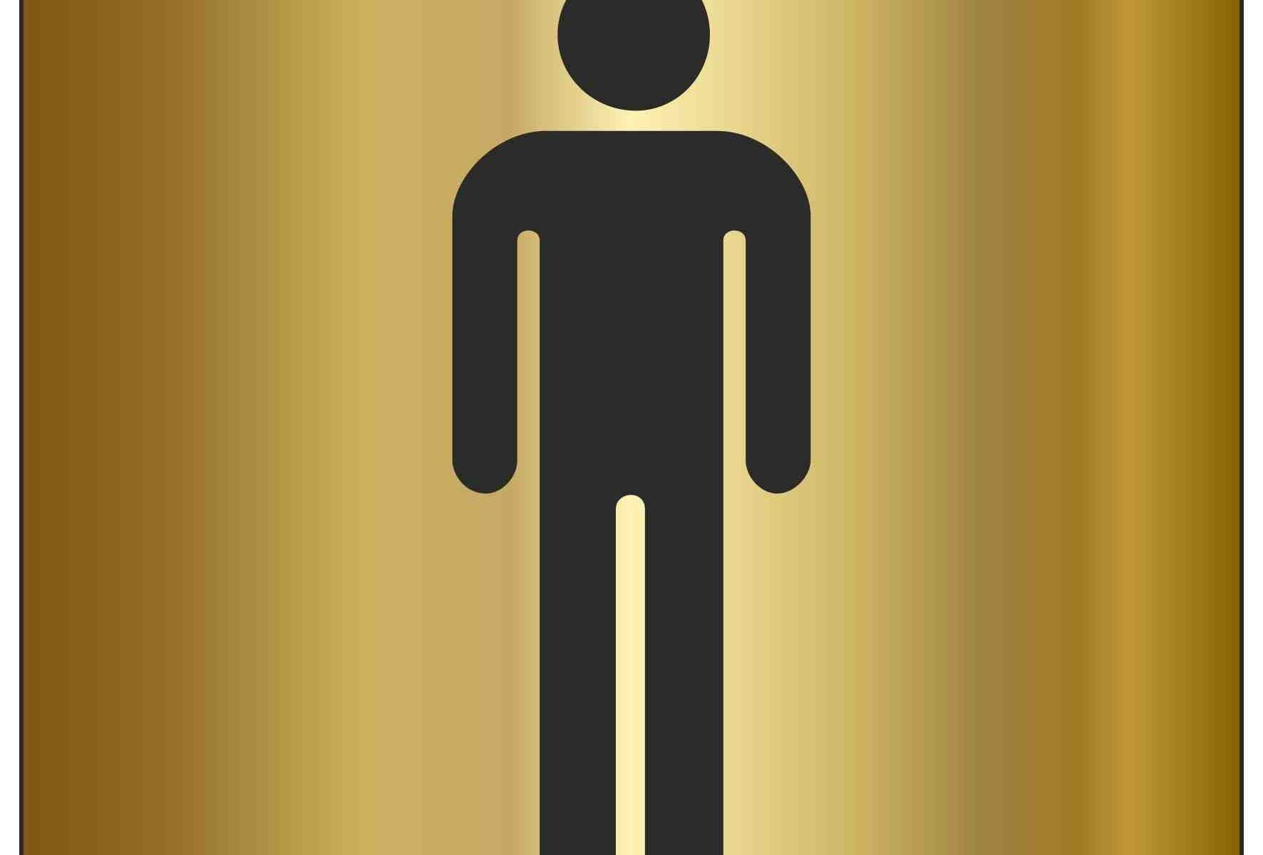 Male Toilet Symbol