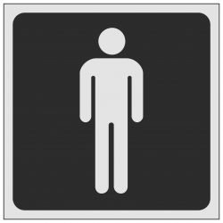 Gents Symbol Toilet