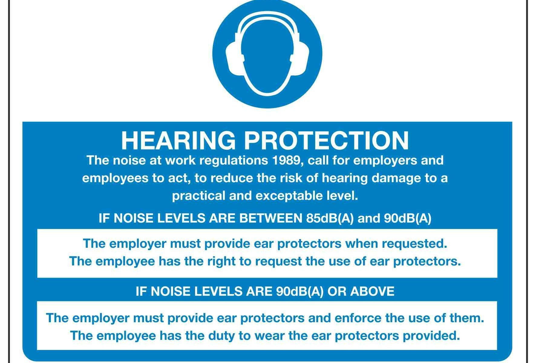 HEARING PROTECTION The noise at work regulations