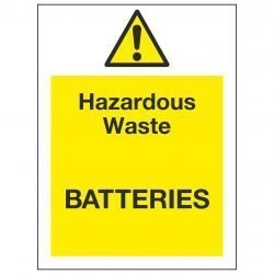 Hazardous Waste BATTERIES