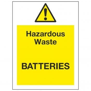 Hazardous Waste BATTERIES