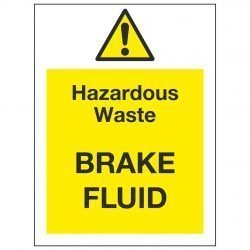 Hazardous Waste BRAKE FLUID