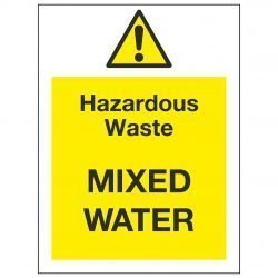 Hazardous Waste MIXED WATER