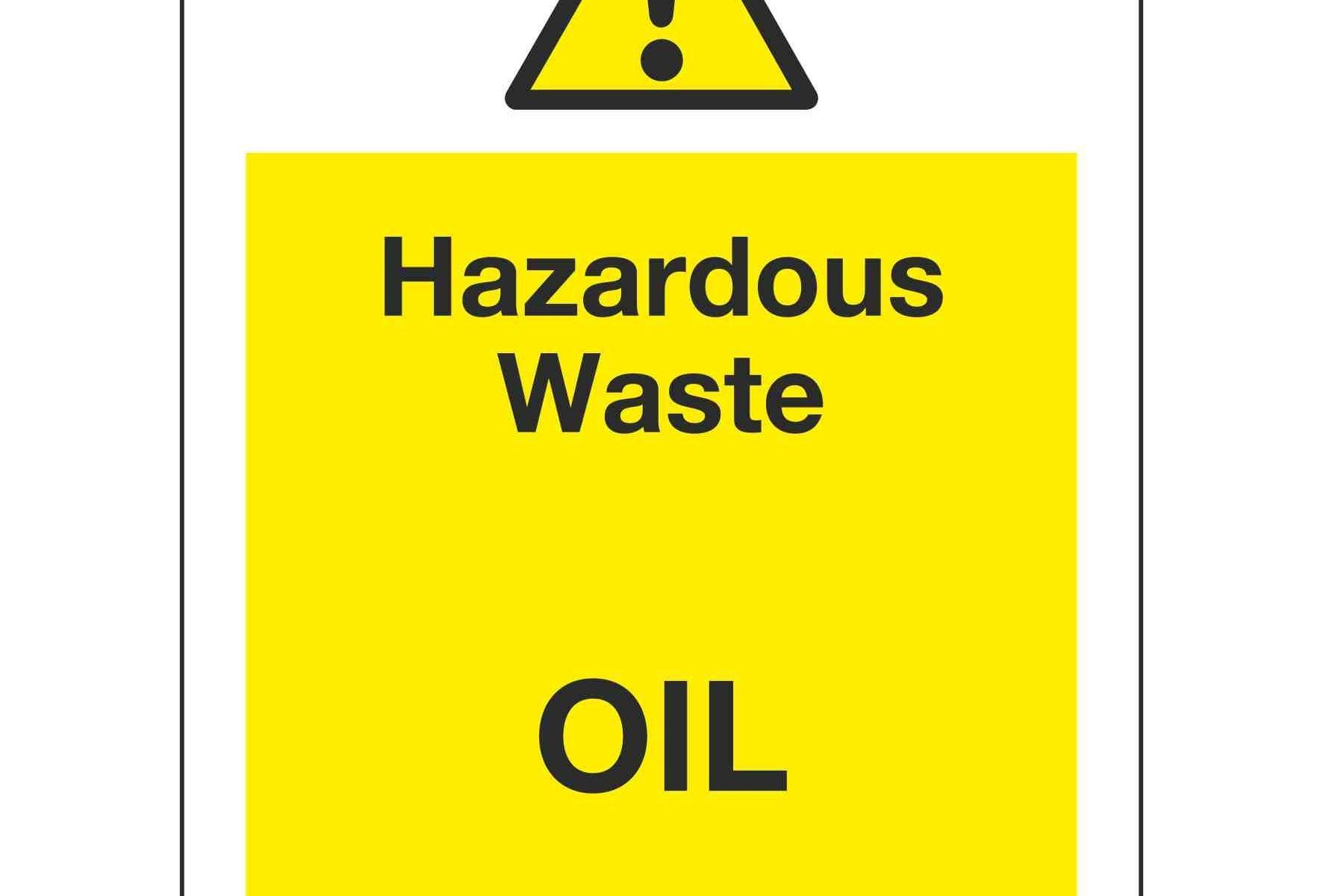 Hazardous Waste OIL