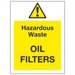 Hazardous Waste OIL FILTERS