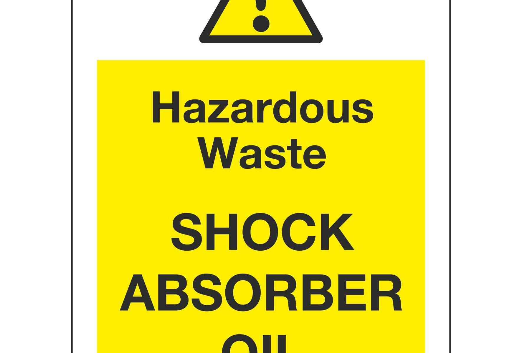 Hazardous Waste SHOCK ABSORBER OIL