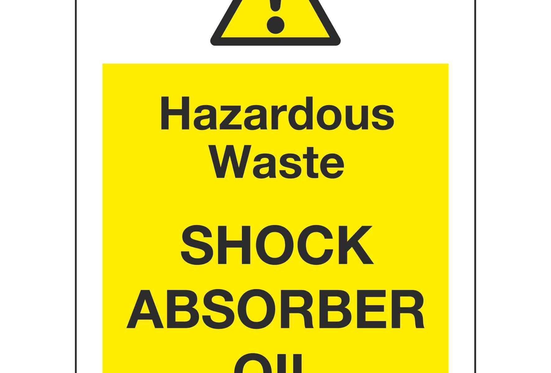 Hazardous Waste SHOCK ABSORBER OIL