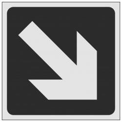 ISO Arrow Diagonal