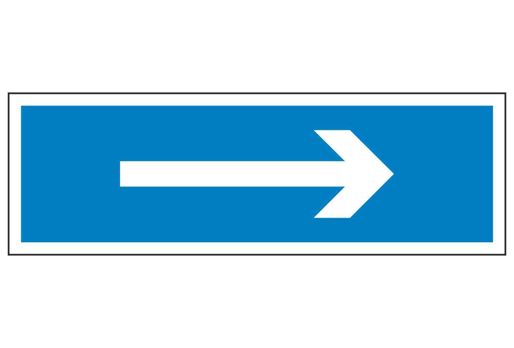 ISO Arrow Left or Right